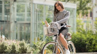 női városi kerékpár
