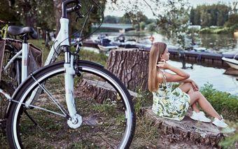 Agyváltós trekking kerékpár