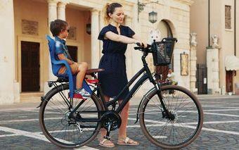 Gyermek ülés kerékpárra