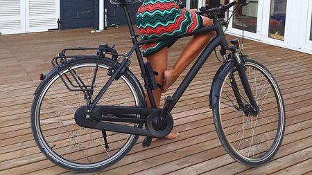 Hajtogatható kerékpár lakat