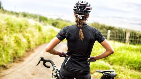 Női kerékpáros mez