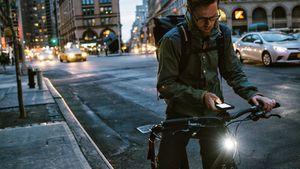 Kerékpár lámpák előre